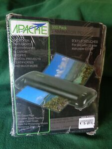 Apache Laminating Pouches Letter Size 300 Pack 5 Mil