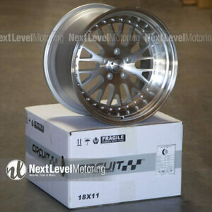 Circuit Cp21 18 9 5 18 11 5 114 3 20 Machined Wheels Staggered Fits 350z 370z