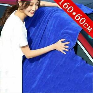 Car Wash Microfiber Towel Auto Cleaning Drying Cloth Hemming Super Absorbent Us