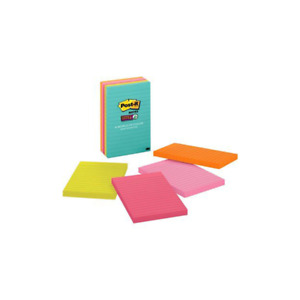 Post it Super Sticky Notes 660 5ssmia 4 In X 6 In 101 Mm X 152 Mm