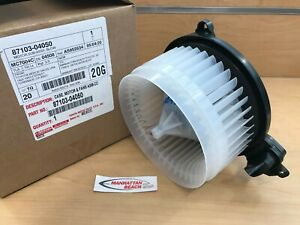 Genuine Toyota 2016 2020 Tacoma Factory A C Heater Blower Motor 87103 04050