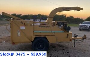 2 Vermeer Bc1800xl Wood Chippers For Sale 3274