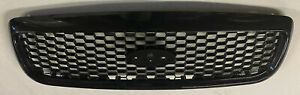 98 11 Ford Crown Victoria Front Grille Grill Black Honeycomb Glossy