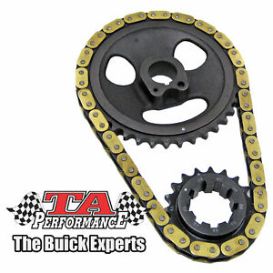 Buick Nailhead Single Roller Timing Chain Heavy Duty Fits 57 66 364 401 425