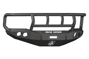 Road Armor 66002b Stealth Winch Front Bumper