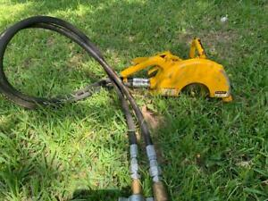 Stanley Co23 Hydraulic Powered Underwater Cut off Saw For 10 Blades