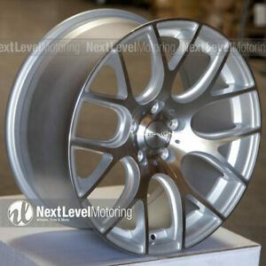Circuit Cp31 18x8 18x9 5 114 3 Machined Silver Wheels Staggered Fit Camry Tl Rsx
