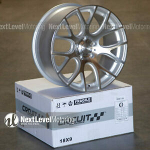 Circuit Cp31 18x8 18x9 5 114 3 Machined Silver Wheels Staggered Fit Civic Accord