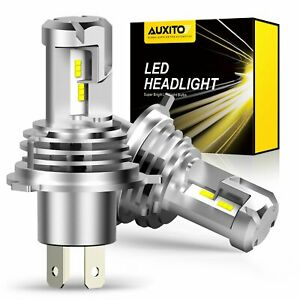 Auxito H4 9003 Led Bulb Headlight 24000lm Kit High low Beam White Super Bright C