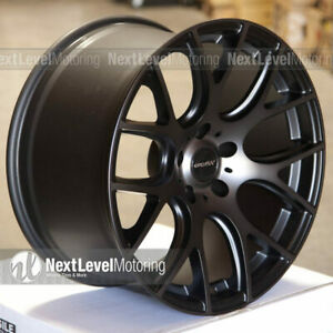 Circuit Cp31 1810 5 114 3 22 Tinted Black Wheels Fits Mitsubishi Evo 8 9 10 X