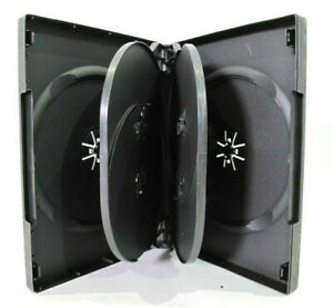 Dvd cd Case 6 Disc Multi Six Disc Empty Box 27mm Commercial Grade