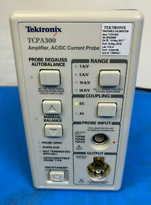 Tektronix Tcpa300 Amplifier Ac dc Current Probe For Tcp305 Tcp312