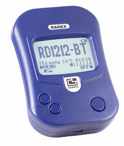 Radex Rd1212 bt Advanced Radiation Detector Geiger Counter