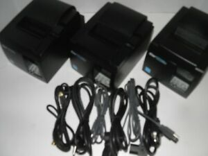 Star Tsp100iii Thermal Pos Receipt Printer Tsp143iiiu W Power Cord