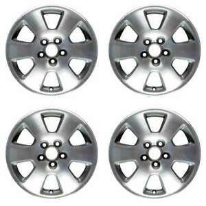 Subaru Forester 1998 2003 16 Oem Wheels Rims Full Set Machined With Charcoal