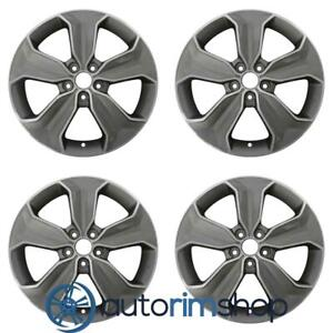 Hyundai Santa Fe 2013 2016 18 Oem Wheels Rims Full Set W out Tpms Slot