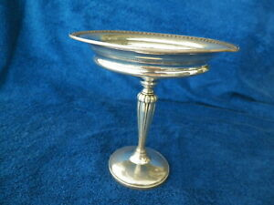 Vntg Fisher 6 Weighted Sterling Silver Compote 911