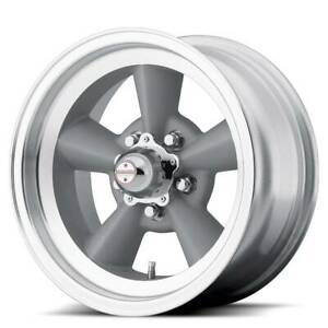 17x8 American Racing Tt O 5x120 65 Et0 Vintage Wheels Set Of 4