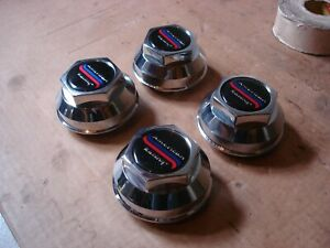 4 American Racing Daisy 200s T 70 Snap Center Caps For 2 1 2 Hole Discontinued