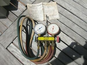Yellow Jacket Test And Charging Manifold Gauges W Hoses