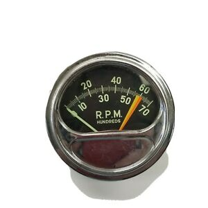 62 Chevy Tachometer 409 By Sun