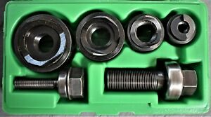 Mint Greenlee 735bb Round Knockout Punch Kit 1 2 To 1 1 4 Manual Conduit Size