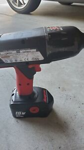Snap On 18v Cordless 1 2 Impact Wrench Kit Ct6850 W Charger