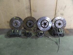 Bmw M5 M6 Brake Caliper Rotor Set 06 10 5 6 Ser E60 E63 E64 545 550 645 650