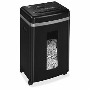 Fellowes 450m 9 sheet Micro cut Paper And Credit Card Shredder With Silentshred
