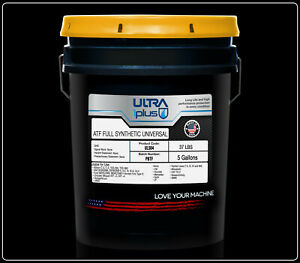 Ultra1plus Automatic Transmission Fluid Synthetic Atf Universal 5 Gallon Pail