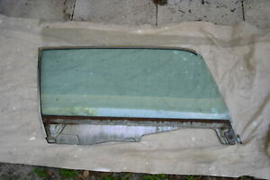 1964 5 1965 1966 Mustang Coupe Right Door Glass Carlite Sun x Tinted M31
