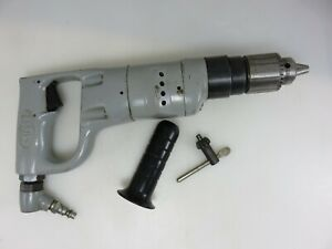 Sioux Pneumatic Air Drill 3 8 Jacobs Chuck 1000 Rpm Model 1465 Made In Usa