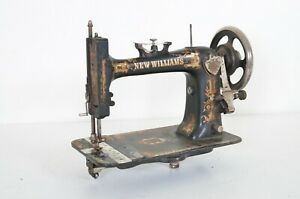 Antique Vintage 1884 New Williams Sewing Machine Head Singer Canada Made Rare
