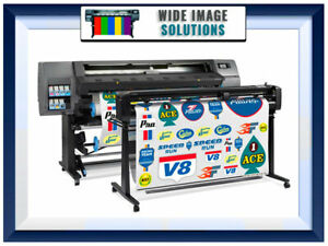Hp Latex 115 54 Latex Printer W Vinyl Cutter Wideimagesolutions W supplies
