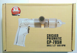 Chicago Pneumatic Cp785h 1 2 Air Drill New In Box Best Price Free Shipping