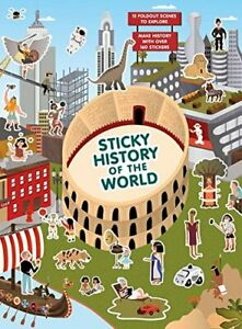 Sticky History of the World Magma for Laurence King Selmes 9781786270375.. $23.32