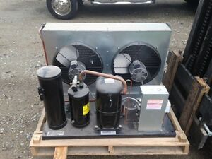 5 Horsepower Air Cooled Refrigeration Condensing Unit Part F3ad a501 tfd 010