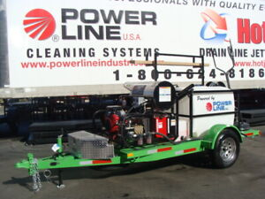Power Wash Trailer Starter Pressure Wash Trailer Mobile Cleaning Equipment