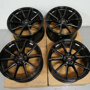 20 Savini Svf4 Forged Black Milled Concave Wheels Rims Fits Bmw F90 M5 Open Box