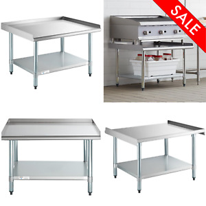 30 X 36 Stainless Steel Table Commercial Mixer Grill Heavy Equipment Stand Duty