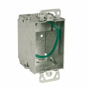 Raco Stab it 3 X 2 In Metal Switch Electrical Box 25 pack new Damaged Box