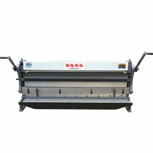Kaka 3 in 1 52 52 in Sheet Metal Brake 3 in 1 Shear Brake Roll Combinations