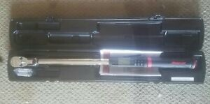 Snap On Digital Torque Wrench 1 2 12 5 250lbs