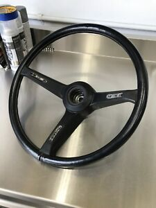 Alfa Romeo Alfetta Gt Gtv Black Leather Steering Wheel