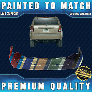 New Painted To Match Rear Bumper Cover Fascia For 2005 2010 Jeep Grand Cherokee