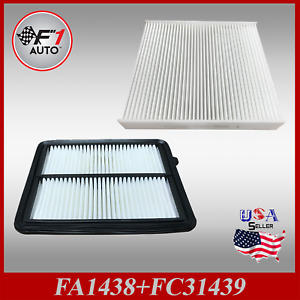 Auto1tech Engine Cabin Air Filter Combo For 2018 2020 Nissan Kicks 16546 5rb1a