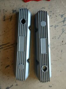 Mopar 340 Cal Custom Valve Covers Nice Condition