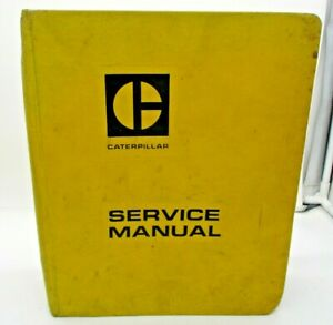 Caterpillar Cat No 12 14 Motor Graders Service Manual 12k 13k 33k 72g 89h