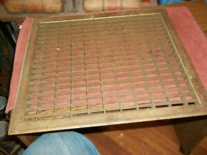 18 X 16 O D Vintage House Floor Wall Return Register Grate Vent Lot M