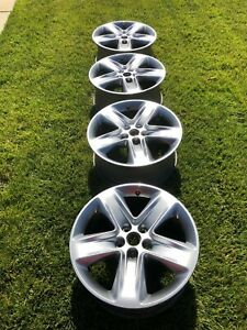 Ford Fusion Sport 2010 2011 2012 2010 2012 18 Oem Wheel Rim Set Ae5j 1007 ac